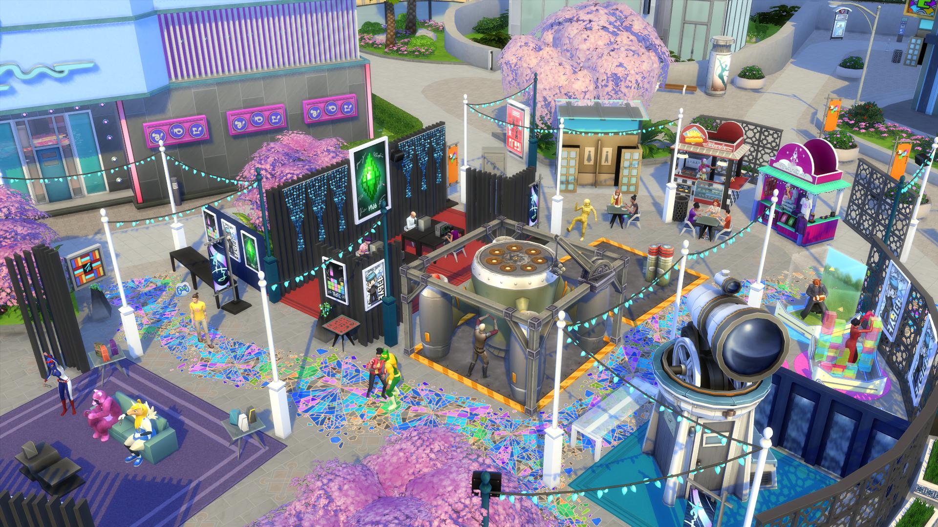 Die Sims 4 Großstadtleben Release